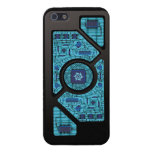 Blue Shock Circuits Cover For iPhone 5/5S