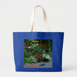 Blue Shoes at the Florist tote bag