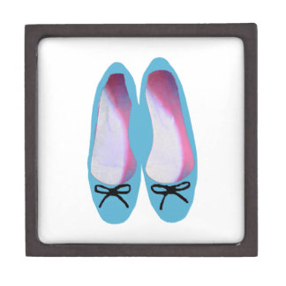 Blue shoes gift box