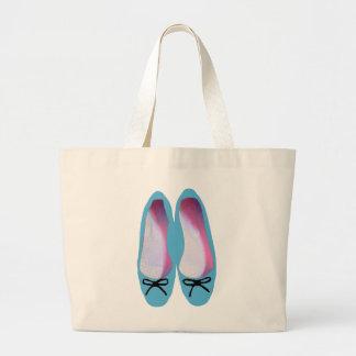Blue Shoes Jumbo Tote Bag