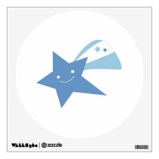 Blue Shooting Star Wall Decor