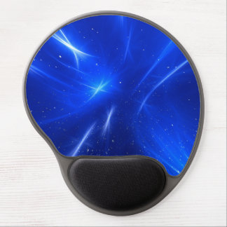 Blue Shooting Stars Gel Mouse Pad