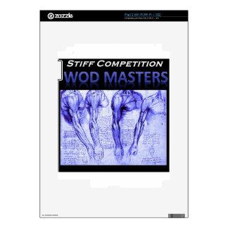 Blue Shoulder Design iPad 2 Skin