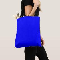 Blue Shoulder Tote Bag