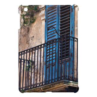 Blue Sicilian Door on the Balcony iPad Mini Case