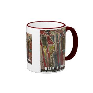 blue siding coffee mug