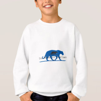 Blue Silhouette Logo Sweatshirt