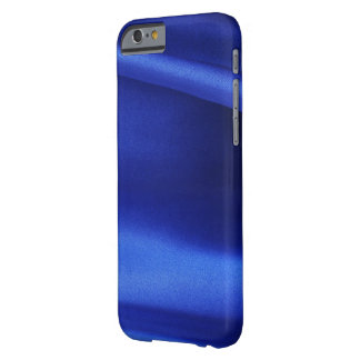 Blue Silk Fabric Abstract Barely There iPhone 6 Case