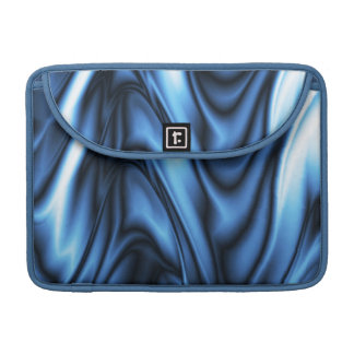 Blue Silk Sleeve For MacBooks