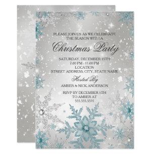 snowflake invitations 5400 snowflake announcements invites
