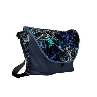 Blue Silver Mix-Up Bag