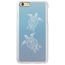 Blue Silver Sea  Turtles Tribal Animal Incipio Feather Shine iPhone 6 Plus Case