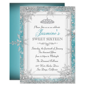 Winter Wonderland Birthday Invitations Zazzle