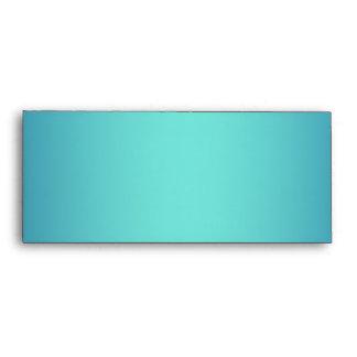 Blue simple shade elegant #10 envelopes