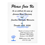 blue simple tree design.png personalized announcement