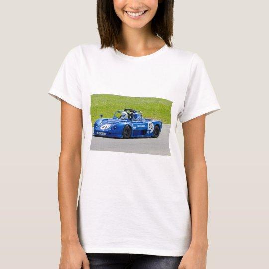 Blue single seater race car T-Shirt