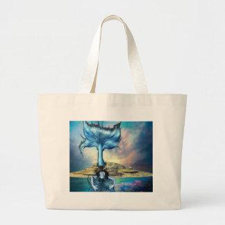 BLUE SIREN CANVAS BAGS