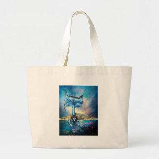 BLUE SIREN TOTE BAG