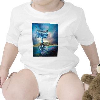 BLUE SIREN BABY BODYSUIT