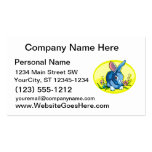 blue sitting rabbit flowers yellow oval.png business card