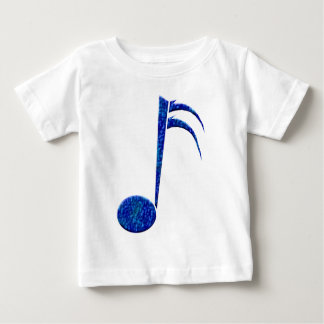 """Blue Sixteenth Note"" Baby T-Shirt"