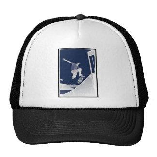 Blue Skate Trucker Hat