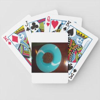Blue  Skeezer Bicycle Playing Cards
