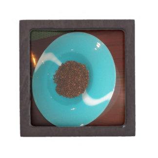 Blue  Skeezer Jewelry Box