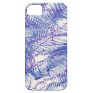 Blue Sketches iPhone SE/5/5s Case
