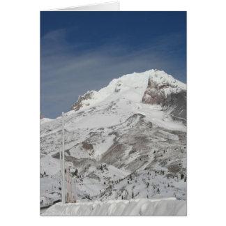 Blue ski season card