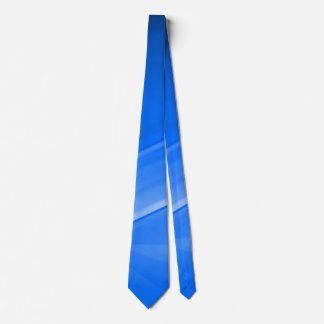 Blue Skies Abstract Custom Business Tie
