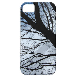 Blue Skies and Alder Tree Art iPhone SE/5/5s Case