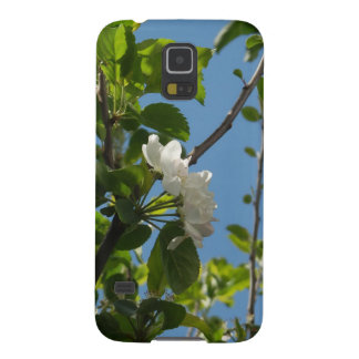 Blue skies and blossom cases for galaxy s5