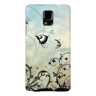 Blue Skies and Butterflies Galaxy Note 4 Case