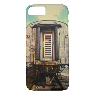 Blue Skies and Travel Lines iPhone 7 Case