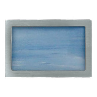 Blue Skies Belt Buckle