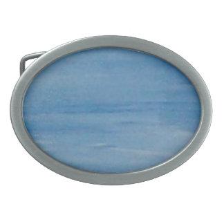 Blue Skies Belt Buckle