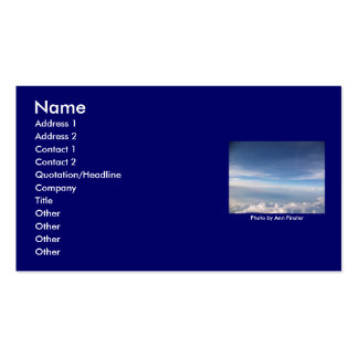 Blue Skies Business Cards