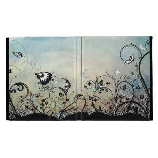 Blue Skies & Butterflies iPad Case