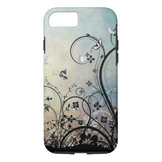 Blue Skies & Butterflies iPhone 7 case