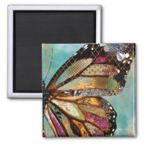Blue Skies Butterfly Magnet