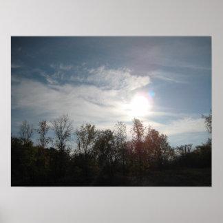 """Blue Skies"" Canvas Print"