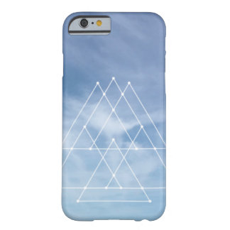 Blue skies geometric design iPhone 6/6S case cover