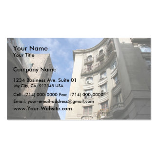 Blue Skies In Barcelona Business Card Templates