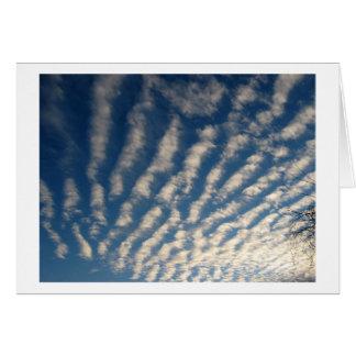 Blue Skies in Morning Card