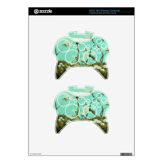 Blue Skies over Cotton Xbox 360 Controller Skin