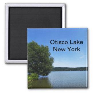 Blue Skies over Otisco Lake Magnet