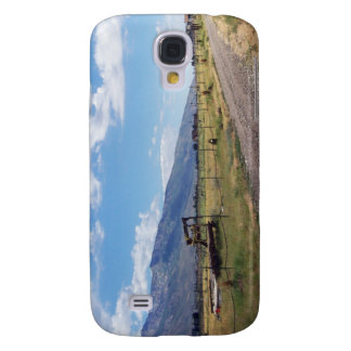 Blue Skies Over Ranch Road Galaxy S4 Cover