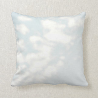 Blue Skies Pilllow Throw Pillow