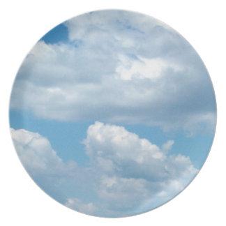 'Blue Skies' Plate